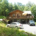 Mountain Log Home Sale Deer Park Maryland
