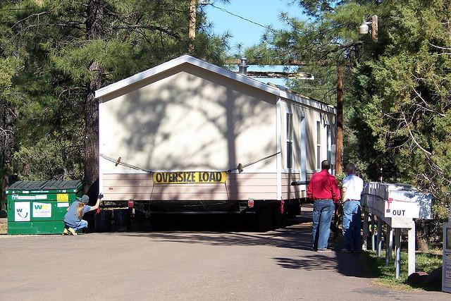 Moving Manufactured Home