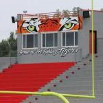 Mural Eyes Tiger Graces Blue Ridge Press Box