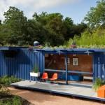 Nature Below Example Shipping Container Home