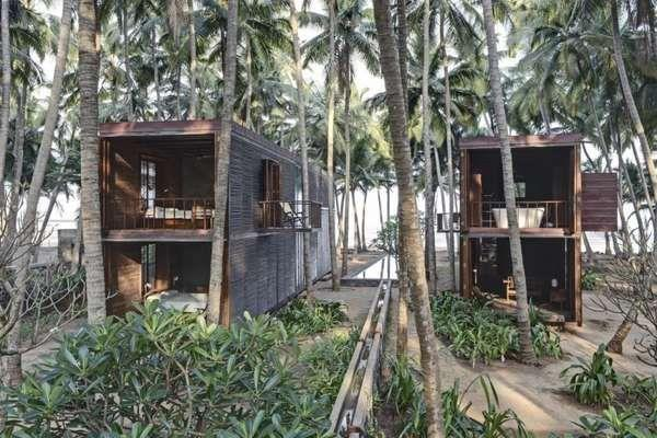 Nature Focused Getaway Homes Palmyra House Studio Mumbai