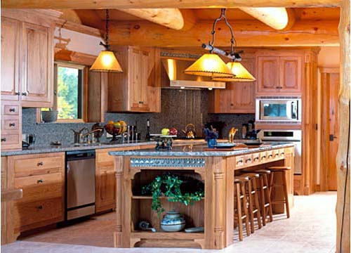 Neville Residence Victor Montana Log Homes Laurie