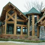 Neville Residence Victor Montana Log Homes