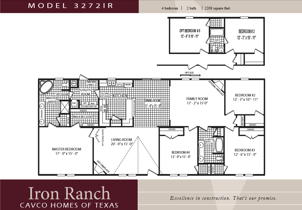 New Bedroom Mobile Home Floor Plans Cavco Homes Double Wides Texas