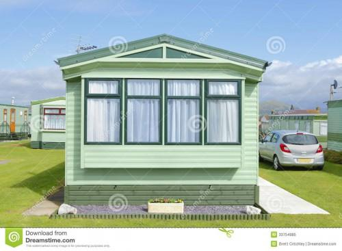 New Boxed Sited Static Trailer Home Caravan