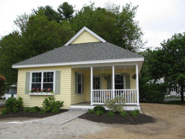 New England Modular Cottage Series Model Homes