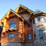 New Frontier Log Home