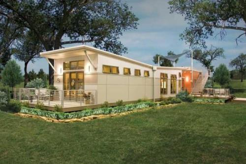 New Line Affordable Green Modular Homes Hits All Eco