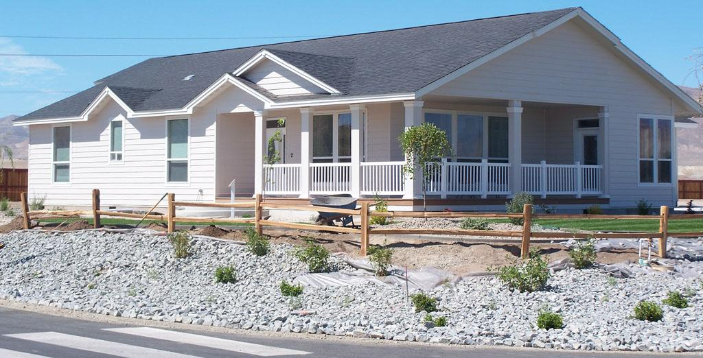 New Mobile Home Patio Ideas Planters Added