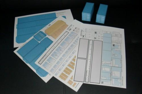 New Shipping Container Home Model Kit Blueprint Plans