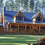 Northeast Log Home Plans House