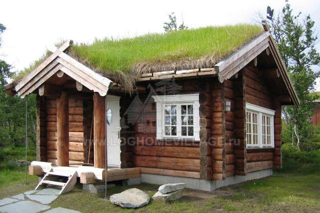 Norwegian Log House Style