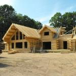 Notice Log Home Kit Does Not Include Roof System Unless