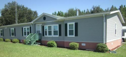 Old Mobile Home Siding