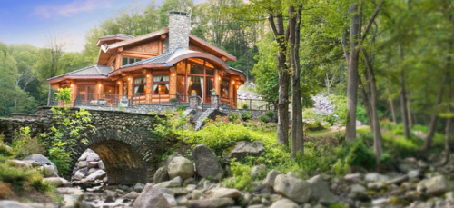 Once Awhile Find Log Homes Truly Beautiful