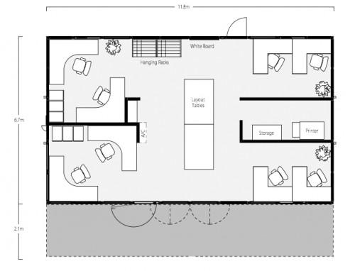 One Two Three Bedroom Shipping Container Home Floor Plans