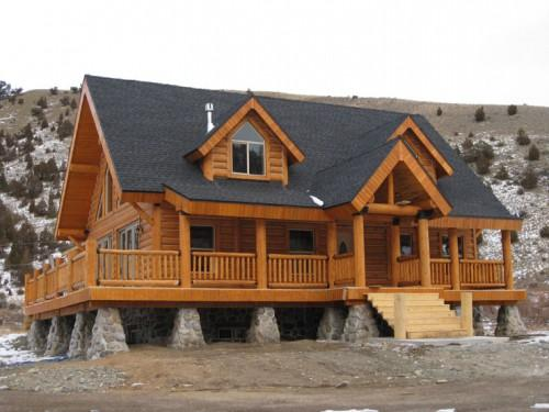 Option Upgrade Look Your Log Home Kit