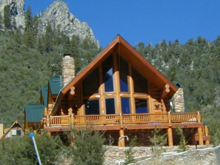 Our Homes Have Consistently Been High Side Colorado Log Home