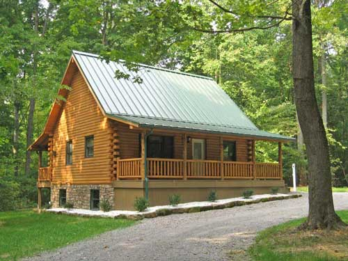 Our Newest Cabin Cozy Pine Log Rental