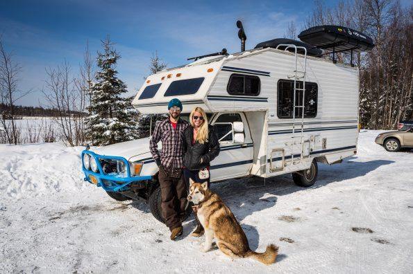 Out Mobile Home Offers New Twist Off Grid Living Alaska