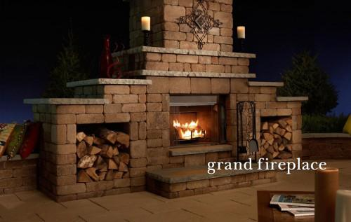 Outdoor Fireplaces Kitchens Bars Grills Fire Rings Tables