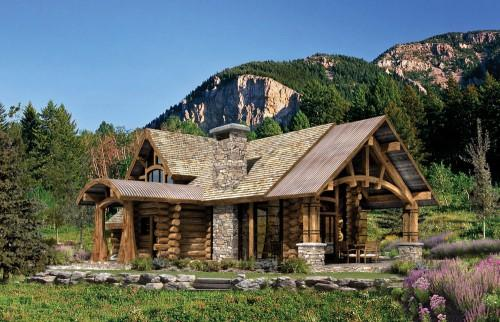 Outdoors Heart Your Log Home Plan