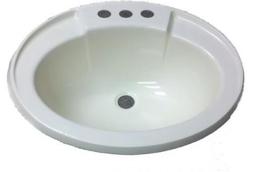 Oval Bone Plastic Sink Mobile Home Manufactured Housing