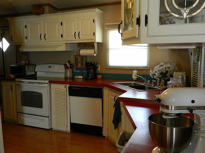 Painting Particle Board Cabinets Mobile Home