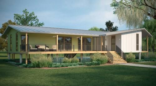 Palm Harbor Homes Builds Modular Green Home Showcased