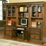 Parker House Modular Home Office Wall Huntington