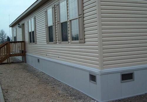 Parts Affordable Double Wide Skirting Ideas Your Mobile Homes