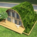 Patric Nadeau Green Roof French Home Wave House