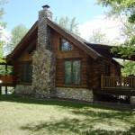 Pequot Lakes Log Home Sale