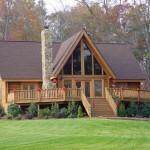 Perfect Country Log Homes Can