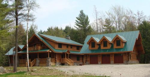 Perfect Log Homes Architecture Montana