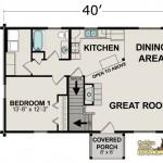 Perfect Open Floor Plan Log Homes Home Plans