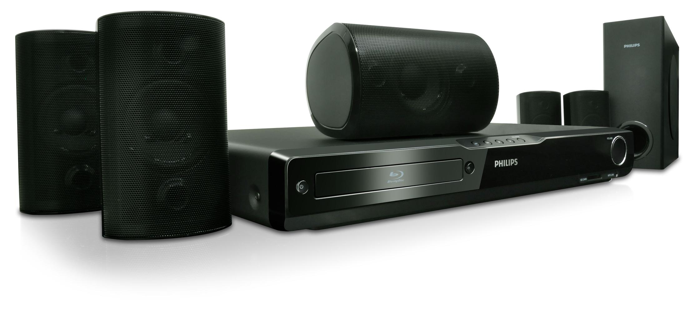 Philips Hts Home Theater System