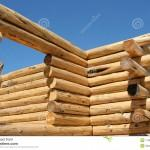 Photography Log Home Construction