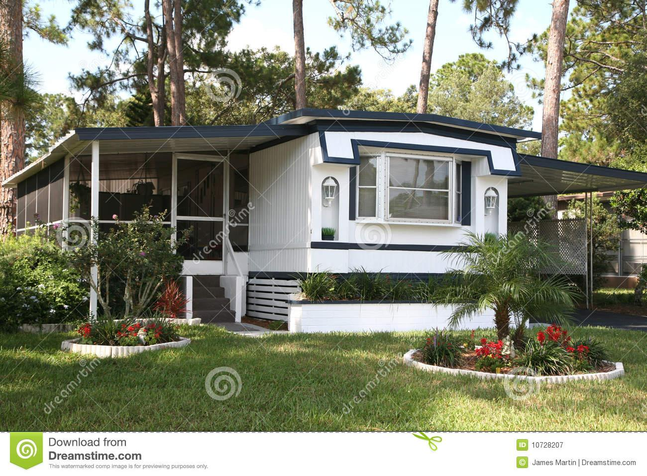 Photography Single Wide Mobile Home