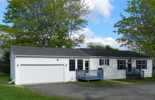 Pittsfield Maine Doublewide Mobile Home Real Estate Sale