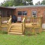 Porches Decks Mobile Homes Offering Stunning Presentation