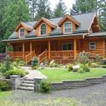 Port Orchard Log Home Sale