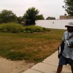 Postal Worker Strolls Green Bay Road Property Village