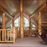 Posts Related Small Log Home Plans Loft