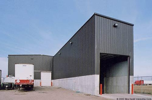 Pre Engineered Steel Warehouse Shipping Distribution Buildings