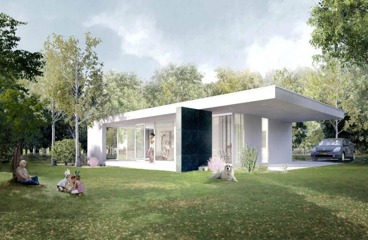 Pre Manufactured Homes Being Development Launched Prefabricated
