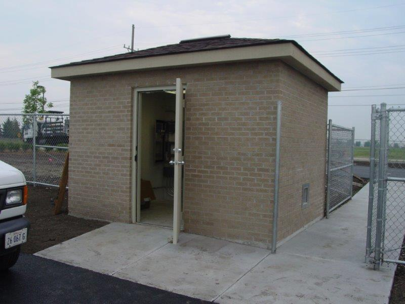 Precast Concrete Utility Buildings
