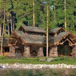 Precisioncraft Log Timber Homes Washington Harbor Home Plan