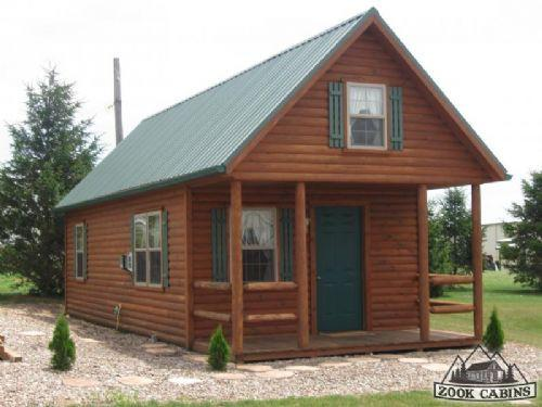 Prefab Cabin Adirondack Mountain Log Loft