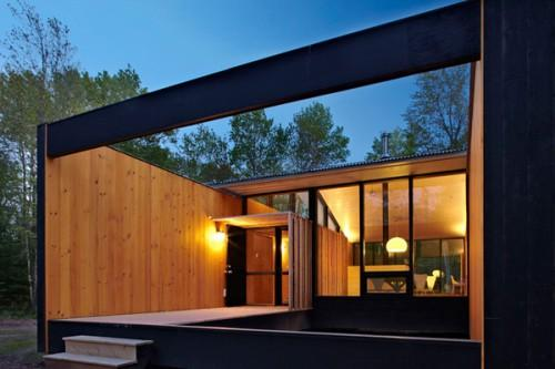 Prefab Cottage Homes Modern Modest Lake House